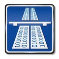 Information superhighway Royalty Free Stock Photo