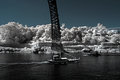 Infrared Douro river Royalty Free Stock Photo