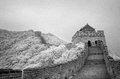 Infrared panorama of the Great Wall