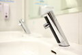 Infrared Faucet Royalty Free Stock Photo