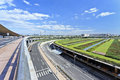 Infrastructure around beijing capital airport sept expressway on sept in china gave green light to projects worth over billion its Stock Photography
