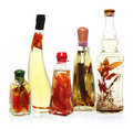 Infused Oils and Vinegars Stock Image