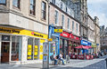 Inglis ulica inverness Obraz Royalty Free