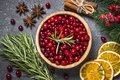 stock image of  Ingredients for Christmas food drink or baking background top vi