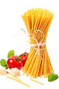 Ingredients for pasta Royalty Free Stock Photo