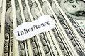 Inheritance money Royalty Free Stock Photo
