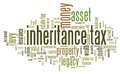 Inheritance tax Royalty Free Stock Photo