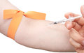 Injection de pointeau Image libre de droits