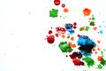 Ink color stains Royalty Free Stock Photo
