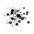 Ink splash for design abstract background Stock Photography