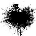 Ink splat dot Royalty Free Stock Photo