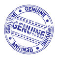 ink stamp : genuine (Vector) Royalty Free Stock Photo