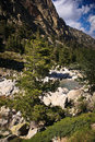 Inland Corsica, splendid Restonica Valley Stock Photo