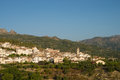 Inland costa blanca typical landscape eastern spain Stock Photography