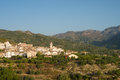 Inland costa blanca typical landscape eastern spain Stock Images