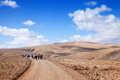 Inland Fuerteventura, Canary Islands Royalty Free Stock Photos