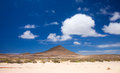 Inland northern fuerteventura around lajares Stock Photos