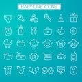 Inline Baby Icons Collection
