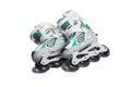 Inline skates. Royalty Free Stock Photo