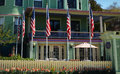 The Inn on Mackinac Royalty Free Stock Photo
