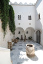 Inner courtyard of the Villa San Michele Royalty Free Stock Photo
