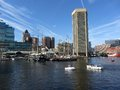 Inner Harbor and Boats Royalty Free Stock Photos