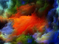 Inner life of colors tragedy color series backdrop pure color forms on the subject art passion spirituality and world Stock Photography