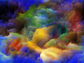 Inner life of colors tragedy color series backdrop pure color forms on the subject art passion spirituality and world Stock Images