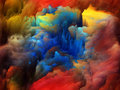 Inner life of colors tragedy color series backdrop pure color forms on the subject art passion spirituality and world Stock Image