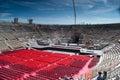 Innere Verona-Arena Stockfoto