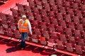 Innere Verona-Arena Stockbilder