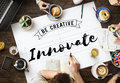 Innovate Aspiration Development Invention Vision Concept Royalty Free Stock Photo