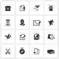 Innovation and Creativity Icons Royalty Free Stock Photography