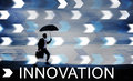 Innovation innovate invention development design concept Royalty Free Stock Photo