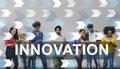 Innovation Innovate Invention Development Design Concept