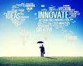 Innovation inspiration creativity ideas progress innovate concep concept Stock Photo