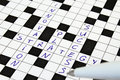 Innovation, Strategy, Plan, Success Crossword Royalty Free Stock Images