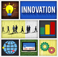Innovation Technology Development Creative Invention Concept Royalty Free Stock Photo
