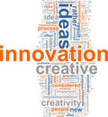 Innovation word cloud Royalty Free Stock Photo