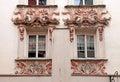 Innsbruck windows, Austria, Tyrol Royalty Free Stock Photo