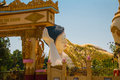 The input gate. Mya Tha Lyaung Reclining Buddha. Bago. Myanma. Burma.