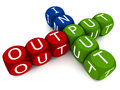 Input output Stock Images
