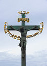 Inri the cross of the jesus christ Royalty Free Stock Images