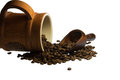 Insatiable taste of coffee to start the day a warm with a cup hot Stock Image