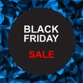 The Inscription Black Friday. Template, black Friday banner.