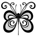 Insect dragonfly vector beautiful exotic patterned design tattoo Royalty Free Stock Image