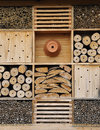 Insect hotel Royalty Free Stock Photo