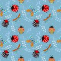 Insect Lady Bug Butterfly Seam...