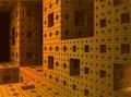 Inside A 3D Sierpinski Sponge ...
