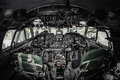 Inside of airplane cockpit Royalty Free Stock Photography